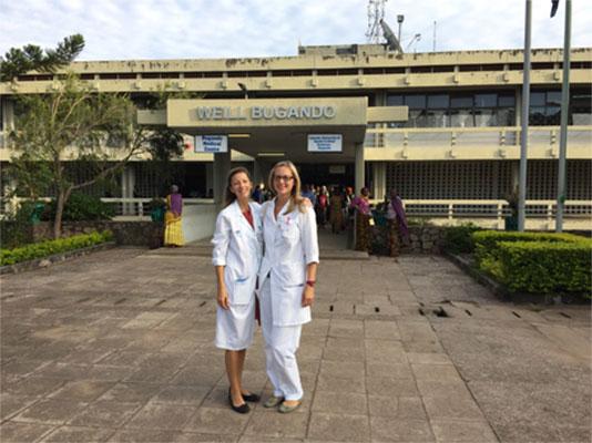 Entrance to the Weill Bugando Medical Center