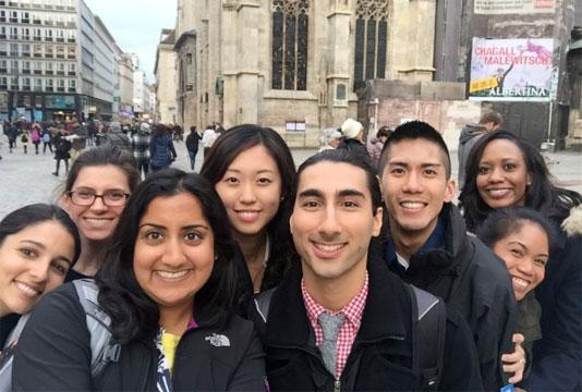 Max Kade medical students in Vienna